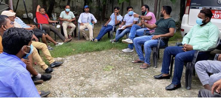 राष्ट्रिय युवा संघ पर्साको बैठक सम्पन्न।
