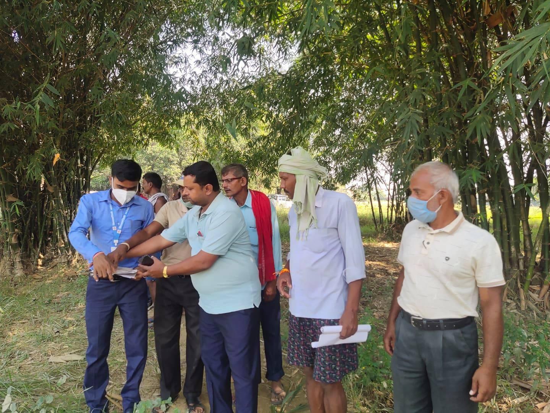 बिन्दवासनी गाँउपालिकाद्वारा सार्वजनिक जग्गाको अनुगमन