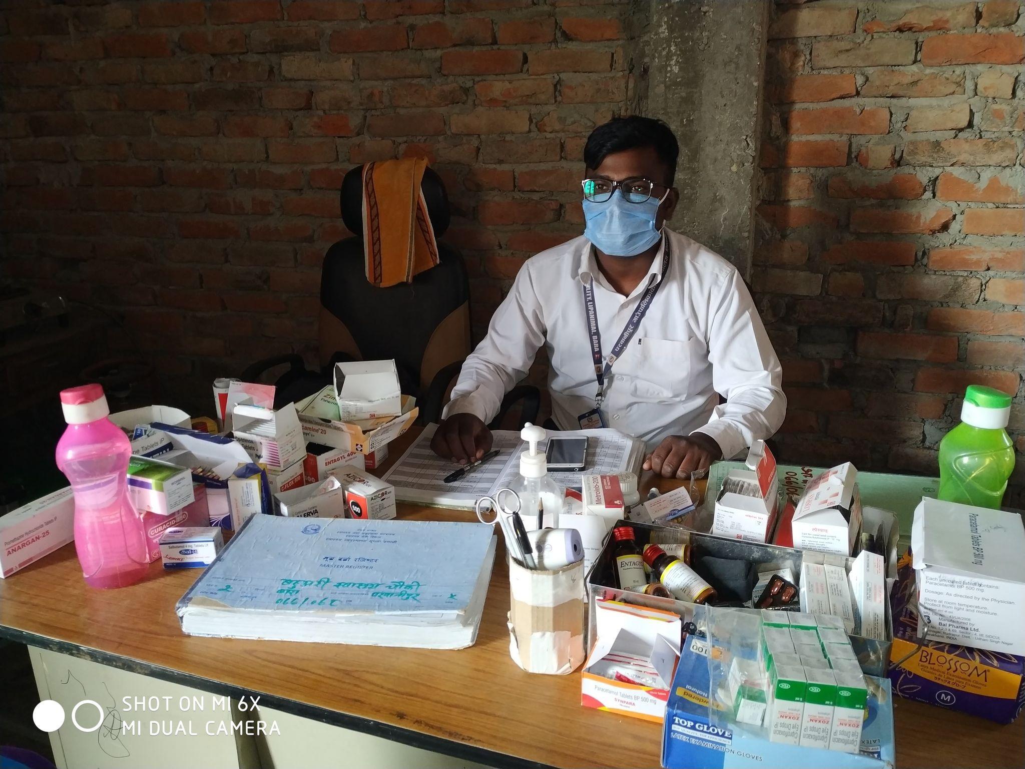 बहु्अरी स्वास्थ्य चौकीको भवन मर्मत सम्भार नहुदा स्वास्थ्य सेवा प्रवाहमा समस्या
