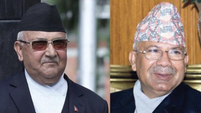 ओली र माधव नेपाल समूहको संयुक्त स्थायी कमिटी बैठक बस्ने तयारी