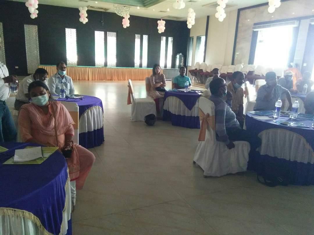 ईजिआरपी दोस्राे चरण बैठक आज भिस्वा होटलमा सम्पन्न।