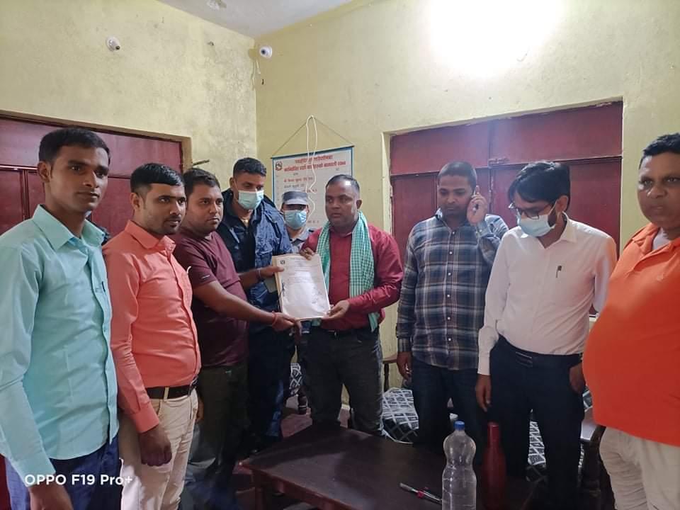 युवा सञ्जालद्वारा पकाहामैनपुर गाउँपालिका अध्यक्ष चौरसियालाई ७ दिनको  अल्टिमेट।