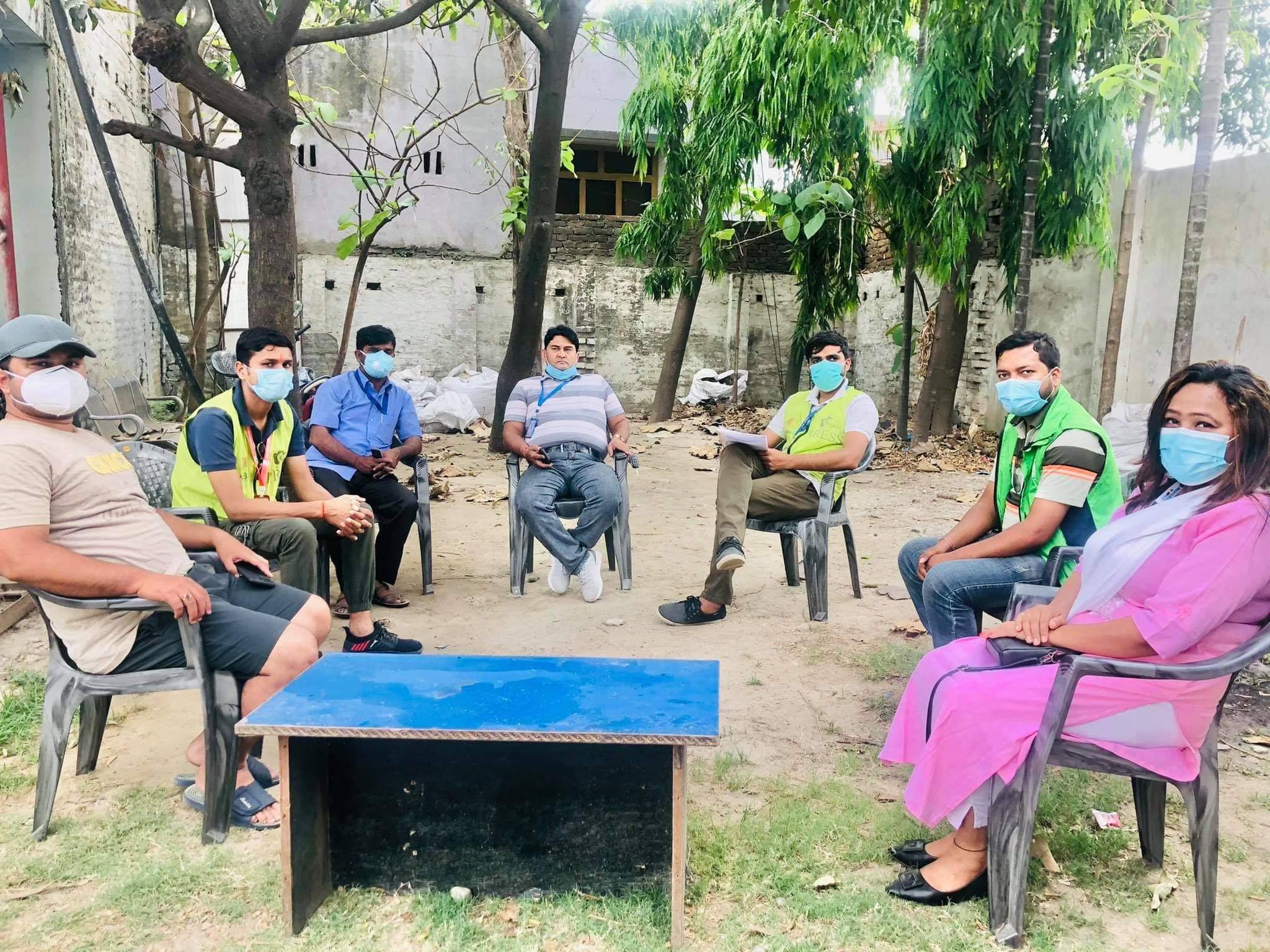 नेपाल पत्रकार महासंघ कोभिड एक्सन टिम पर्साको पहिलो बैठक सम्पन्न ।