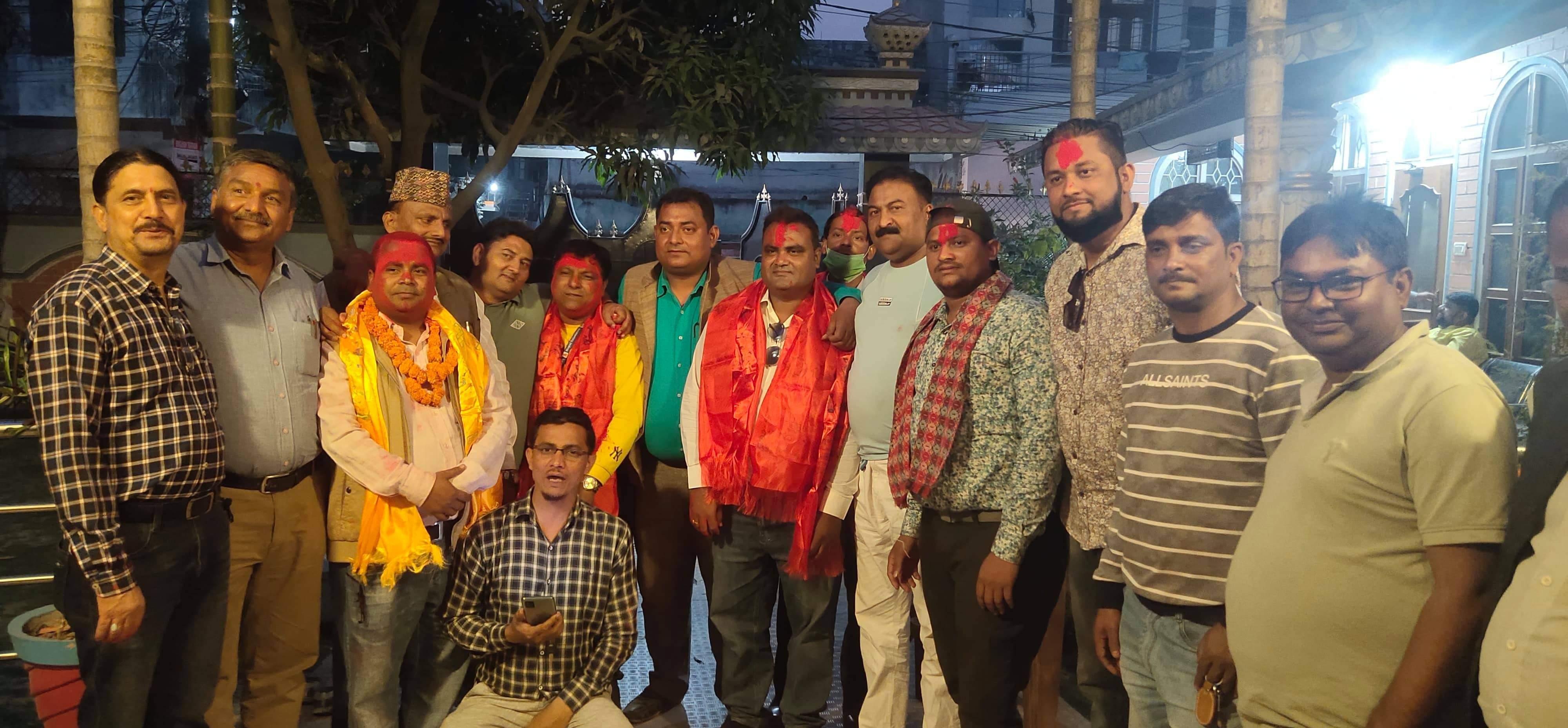 मोहम्मद सदाब सहित आधा दर्जन पत्रकार प्रेस चौतारी नेपाल पर्सामा प्रवेश।