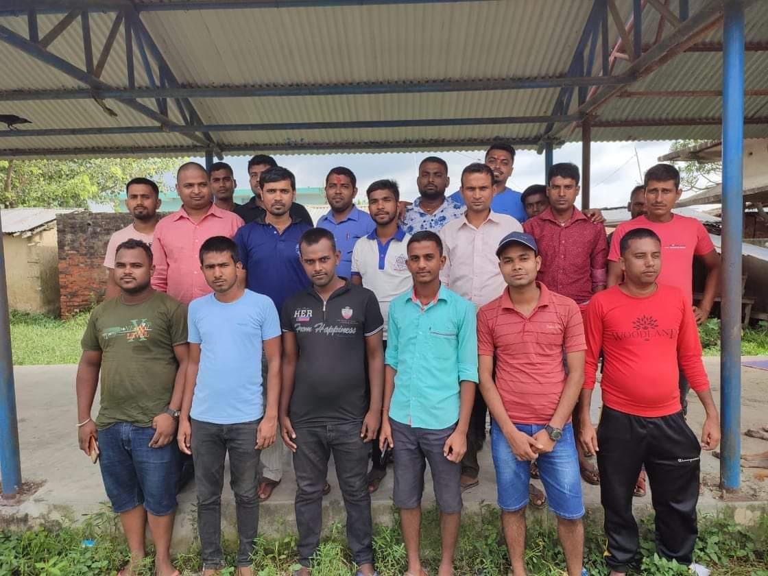 पकाहाँमैनपुर युवा सञ्जालको बैठक सम्पन्न।